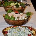 And salads
